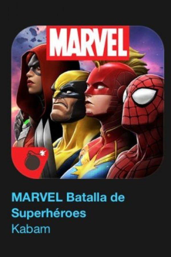 """12- """"MARVEL Batalla de Superhéroes"""". ¡Iron Man vs. Capitán América! ¡Hulk vs. Lobezno! ¡Drax vs. Deadpool! ¡Los combates más épicos del universo Marvel por fin en sus manos! Foto:vía Apple"""