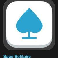 """21- """"Sage Solitaire""""- Es gratuito. Sage Solitaire es una nueva variante del Solitario que combina la suerte y la alegría dek juego con la profundidad del Póker optimizado para su teléfono. Foto:vía Apple"""