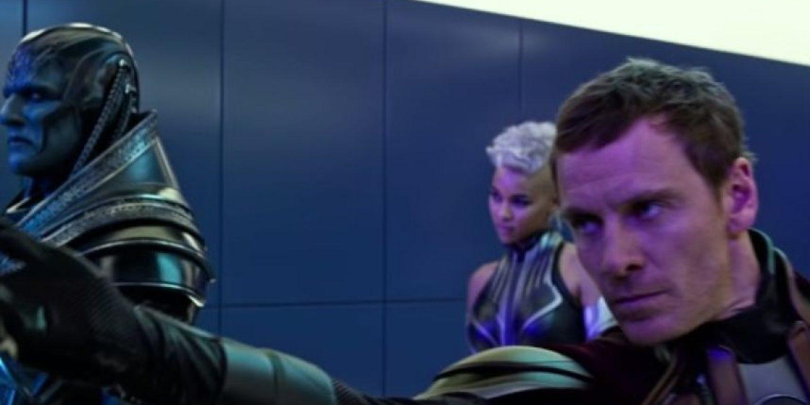 """""""Apocalypse"""" unirá sus fuerzas con """"Magneto"""" para destruir a la humanidad. Foto:20th Century Fox"""