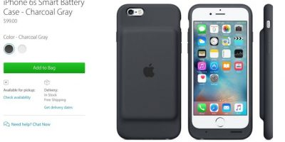 La nueva funda con batería del iPhone no es para todos: Apple