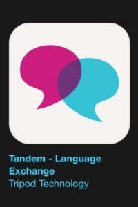 """12- """"Tandem – Language Exchange"""". Es gratuita y les ayuda a encontrar verdaderos hablantes nativos para un aprendizaje de idiomas que es fácil, rápido y divertido. Foto:Apple"""