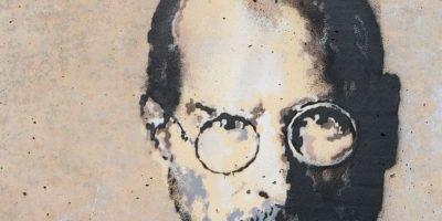 Steve Jobs fue el fundador de Apple. Foto:vía banksy.co.uk