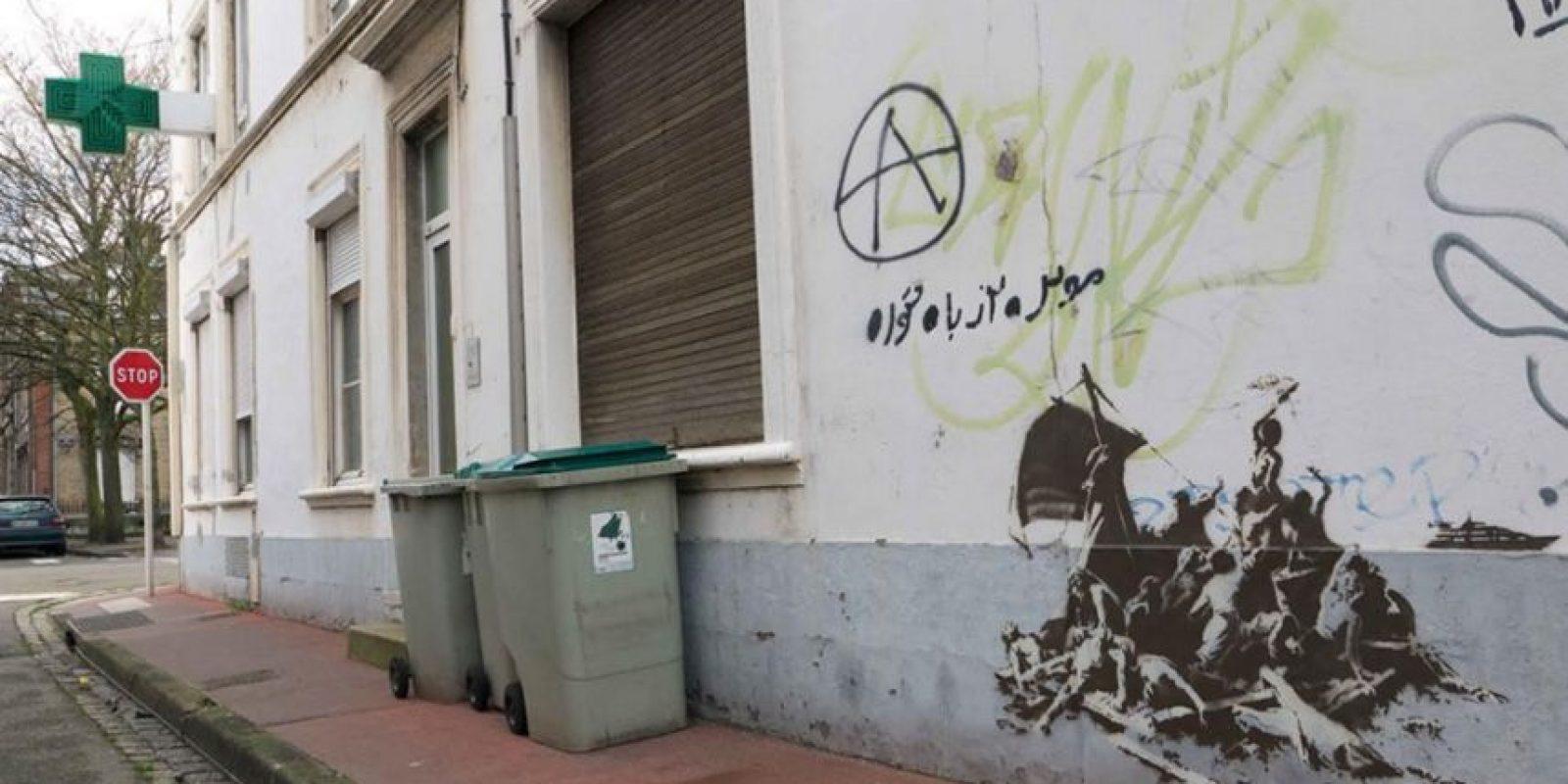 Foto:vía banksy.co.uk