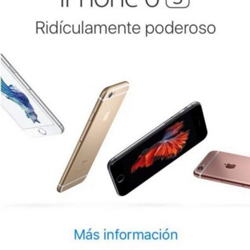 La nueva publicidad que muestra Apple. Foto:Apple