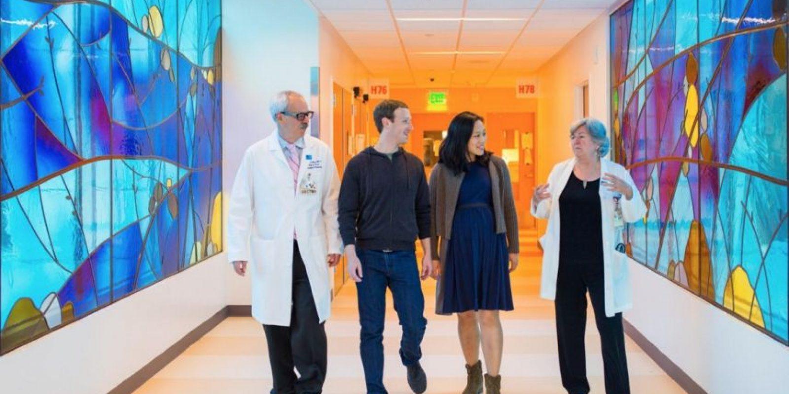 Conocieron a los médicos. Foto:facebook.com/zuck
