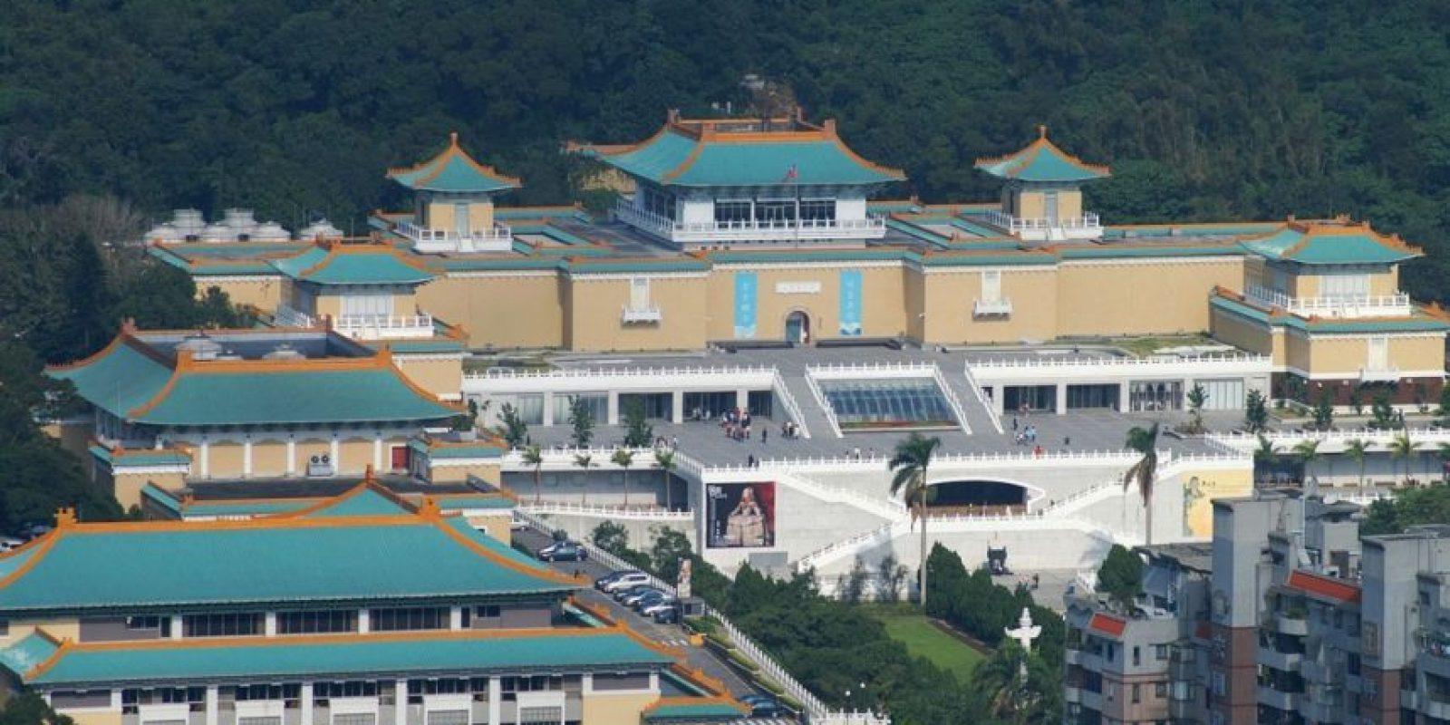 7. Museo del Palacio Nacional, en Taipéi, Taiwán Foto:Wikimedia