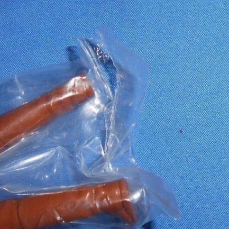 Se nota un cierto desgaste en las manos pero nunca ha sido sacado de su envoltura. Foto:vía ebay.com
