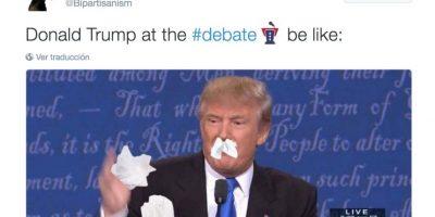 """Se burlaron del """"moqueo"""" de Donald Trump Foto:Twitter.com"""