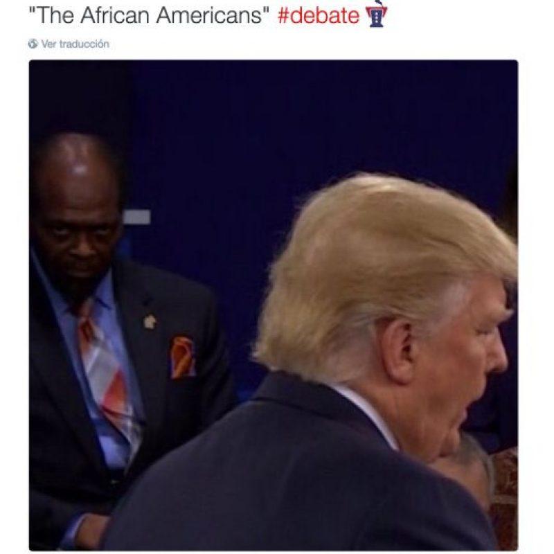 Especialmente con los que veían a Trump Foto:Twitter.com