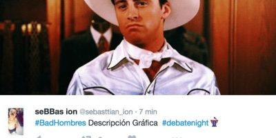 """Y la expresión """"Bad Hombres"""" Foto:Twitter.com"""