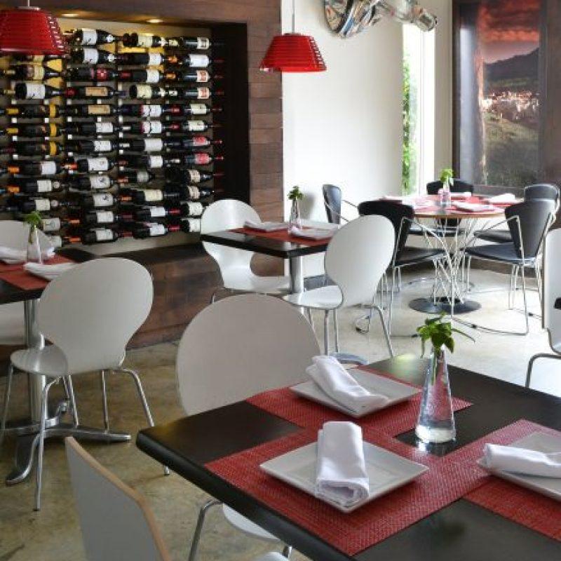 Área de restaurante Carne & Co. Foto:Mario de Peña