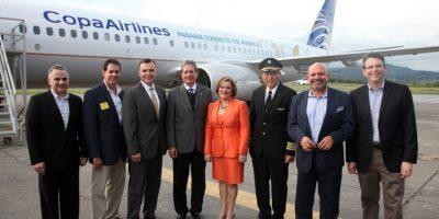 #TeVimosEn La llegada de un histórico avión