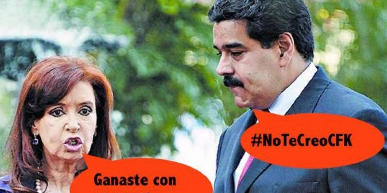 Incluso, la saliente presidenta de Argentina, Cristina Fernández, también fue parte Foto:Twitter.com – Archivo