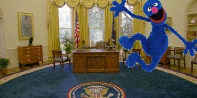 También el tema de la marioneta Foto:Twitter.com