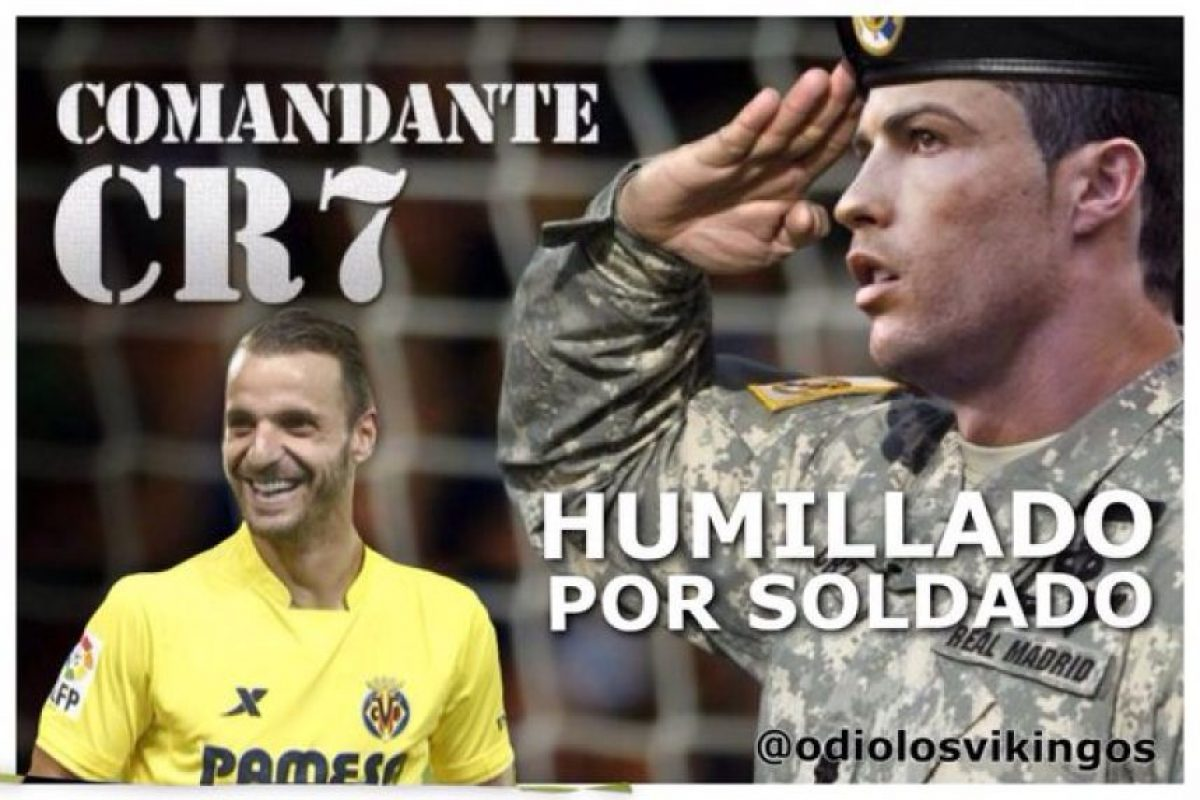 Las burlas recayeron sobre Cristiano Ronaldo, que no logró marcar. Foto:Vía twitter.com