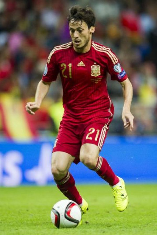 David Silva (España, Manchester City, 29 años) Foto: Getty Images