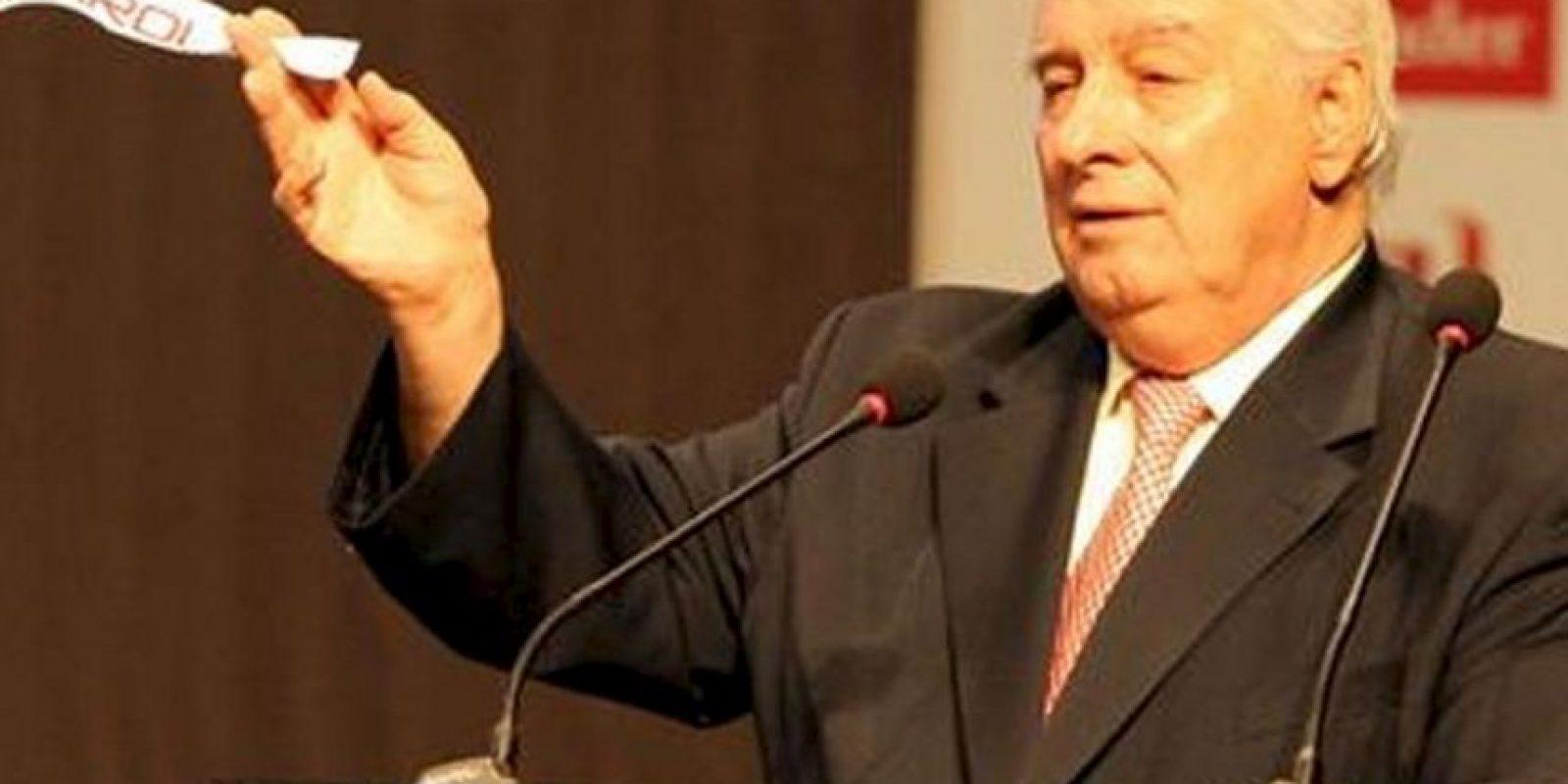 Argentino, ex secretario general de Conmebol y muy cercano al ex presidente de la Asociación del Fútbol Argentino y vicepresidente de la FIFA, el fallecido Julio Humberto Grondona Foto:Getty Images