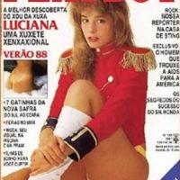 """Luego de esa etapa, a los 17 años posó para la revista """"Playboy"""" y protagonizó el primer beso gay de la televisión brasileña. Foto:vía instagram.com/lucianavendramini"""