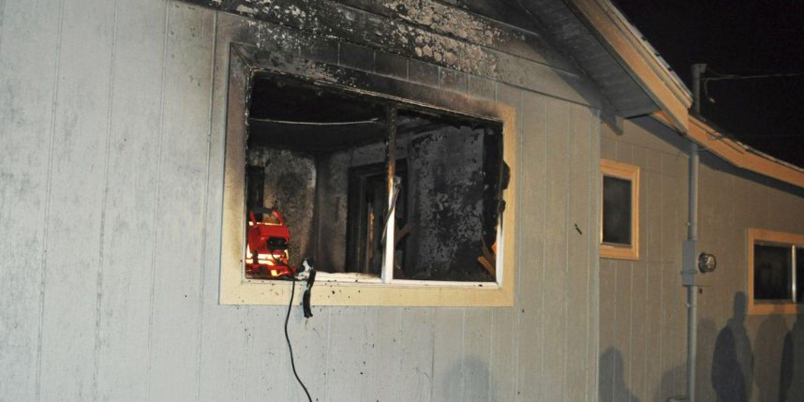 El niño murió cuando su casa se incendió Foto:AP
