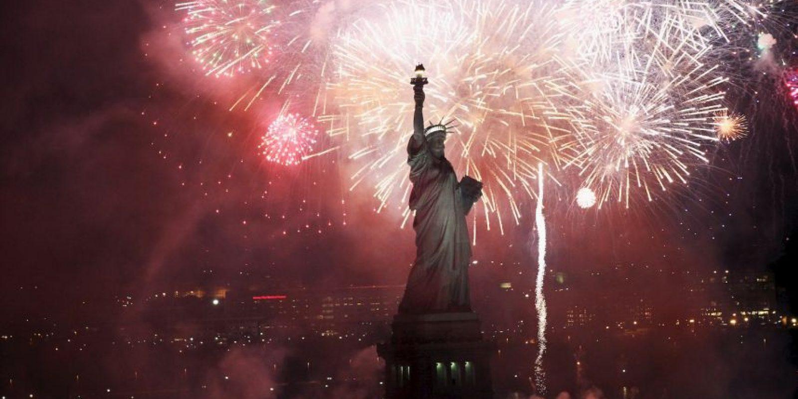 """Su nombre real es """"La libertad iluminando al mundo"""" Foto:Getty Images"""