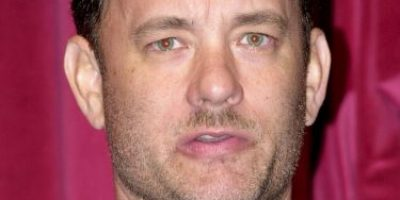 ¿Eres tú, Forrest? Tom Hanks luce