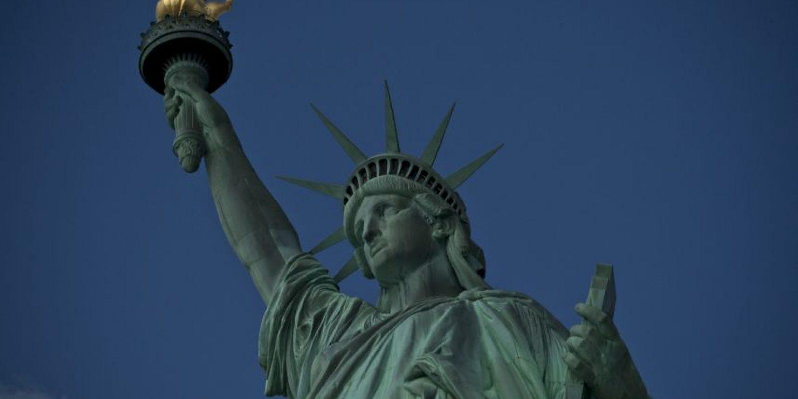 La antorcha es considerada un símbolo del siglo de las luces Foto:Getty Images