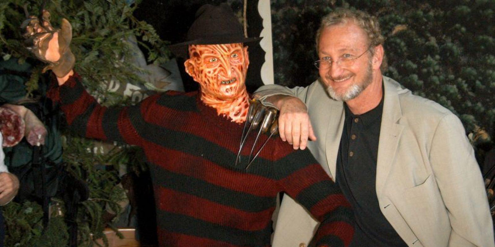 Fue interpretado por el actor Robert Englund poses with Freddy wax Foto:Getty Images