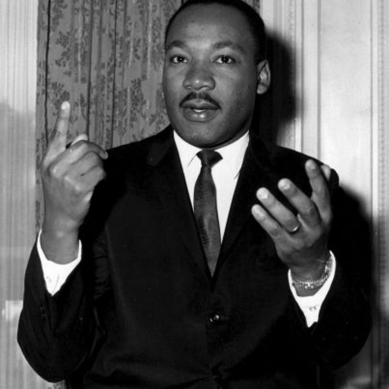 1. Martin Luther King Jr. Foto:Getty Images