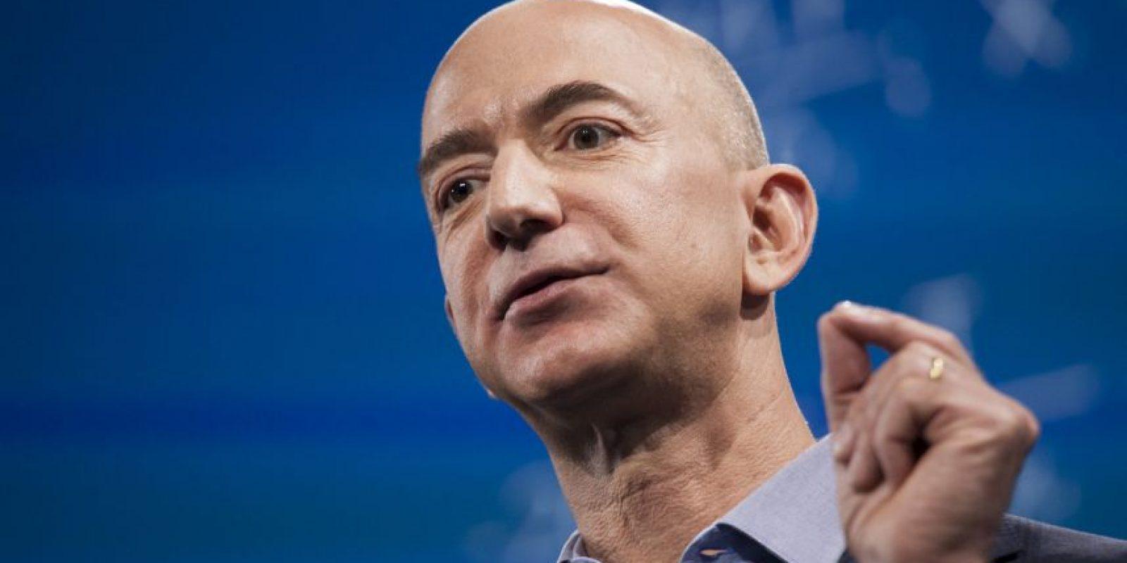 Jeff Bezos, CEO de Amazon Foto:Getty Images