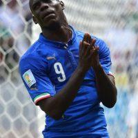 Balotelli adquirió la ciudadanía italiana hasta los 18 años, por eso no pudo ser tomado en cuenta para las selecciones juveniles del país mediterráneo. Foto:Getty Images