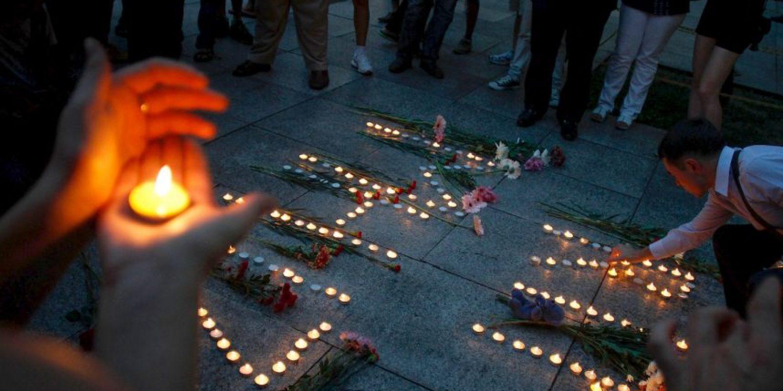 5. 17 de julio: Vuelo MH17 de Malaysia Airlines Foto:Getty Images