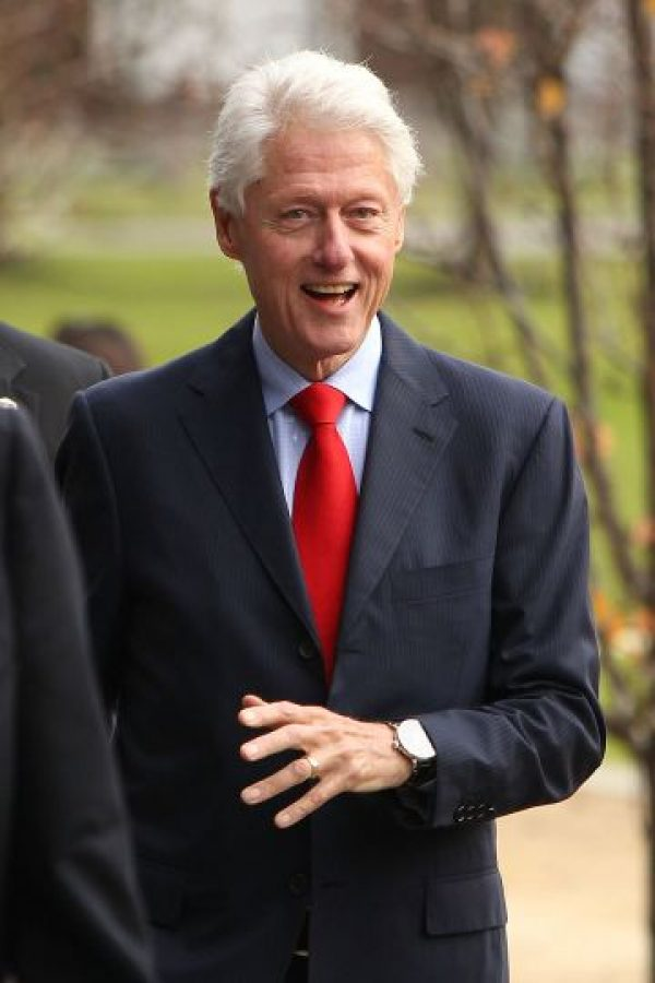 "2. Su nombre completo es William ""Bill"" Jefferson Clinton. Foto: Getty Images"