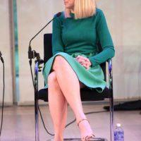 Marissa Mayer, CEO de Yahoo, anunció el nacimiento de sus gemelas. Foto:Getty Images