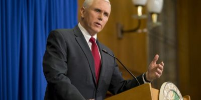 Mike Pence, gobernador de Indiana Foto: Getty Images