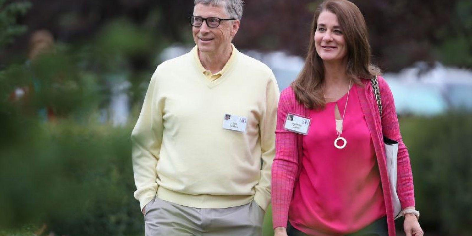 Según Gates, darles dinero hará que ellos no desarrollen lo que quieren ser en la vida Foto:Getty Images
