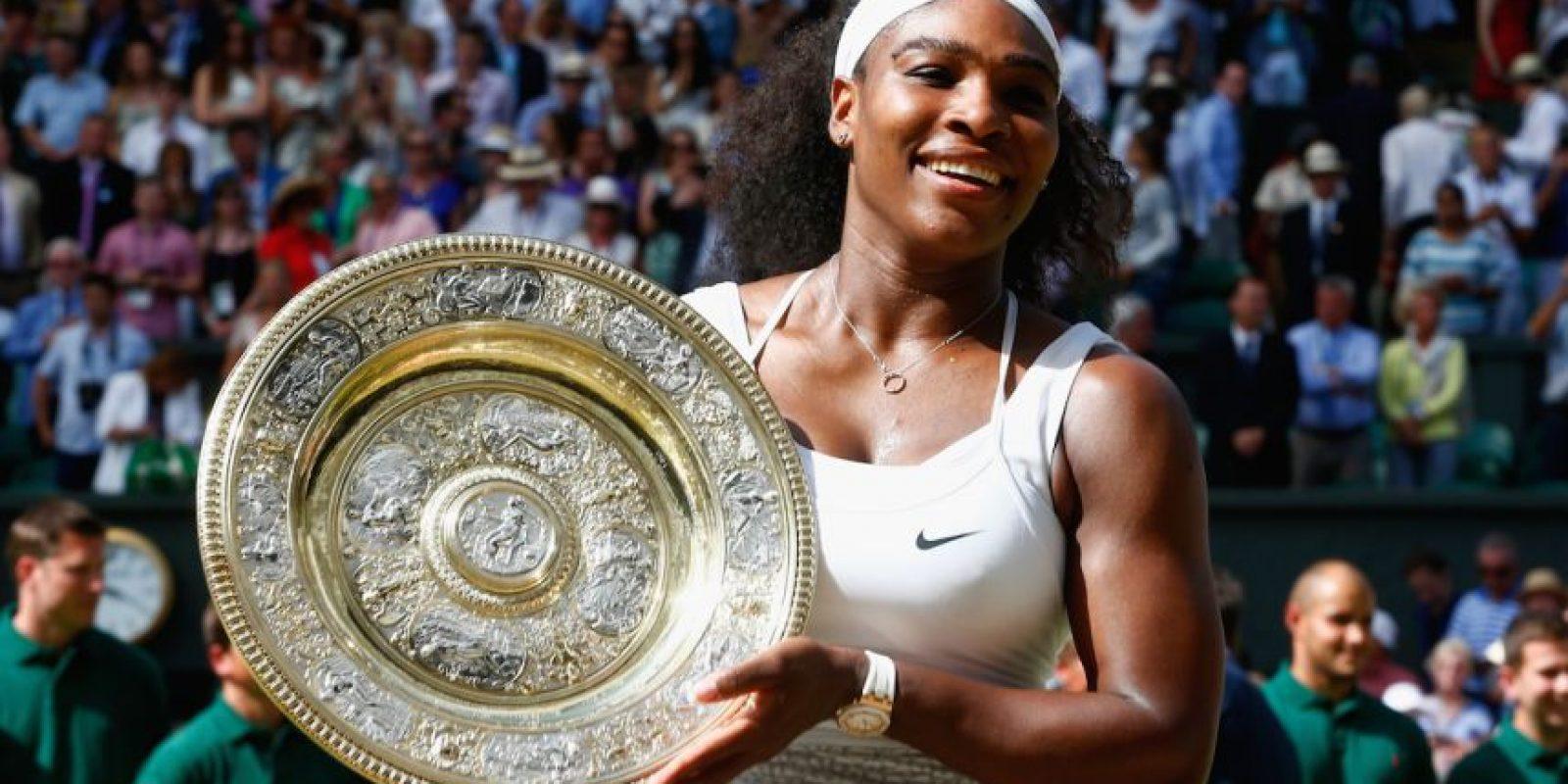 Todo el año se habló de los triunfos y logros de la estadounidense, seguida por 3.9 millones de personas. Foto:Getty Images