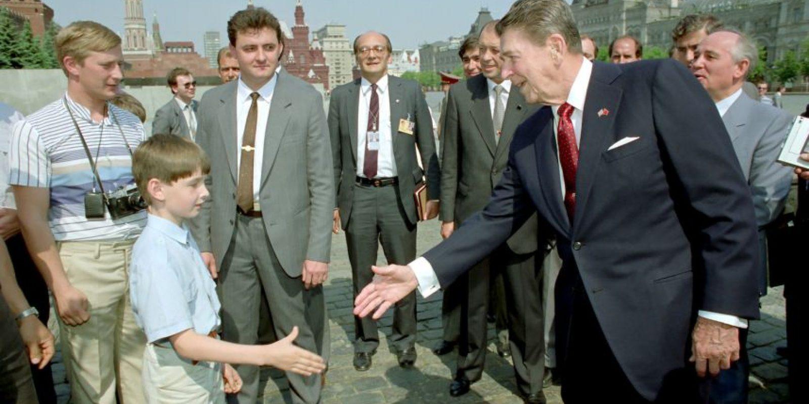 1. En la década de los años 80, durante la Guerra Fría Foto:Getty Images