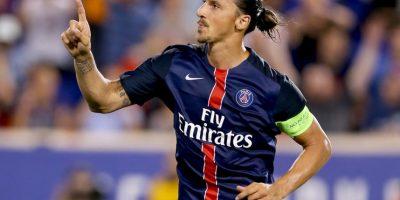 A Zlatan lo ponen el varios equipos para prepararse de cara al retiro, pero lo cierto es que a sus 34 años es el amo y señor del PSG. Foto:Getty Images