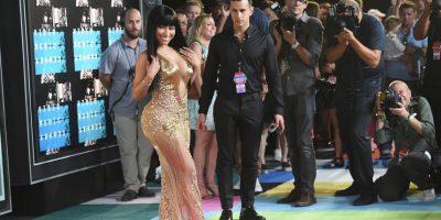 """La intérprete de """"We Can't Stop"""" criticó a Minaj por haberse quejado de no ser nominada al """"Mejor Video"""" del año en los VMAs. Foto:Getty Images"""