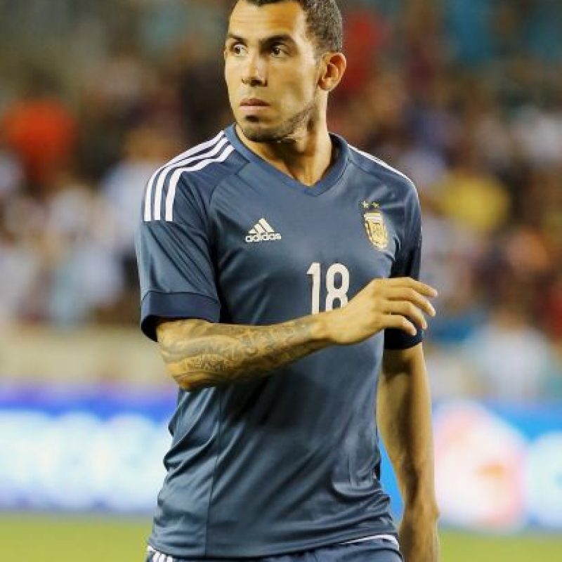 Carlos Tévez (Argentina, Boca Juniors, 31 años) Foto: Getty Images