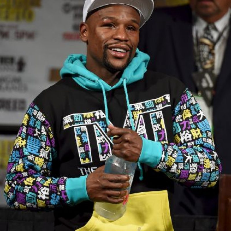 Floyd se retiró invicto Foto:Getty Images