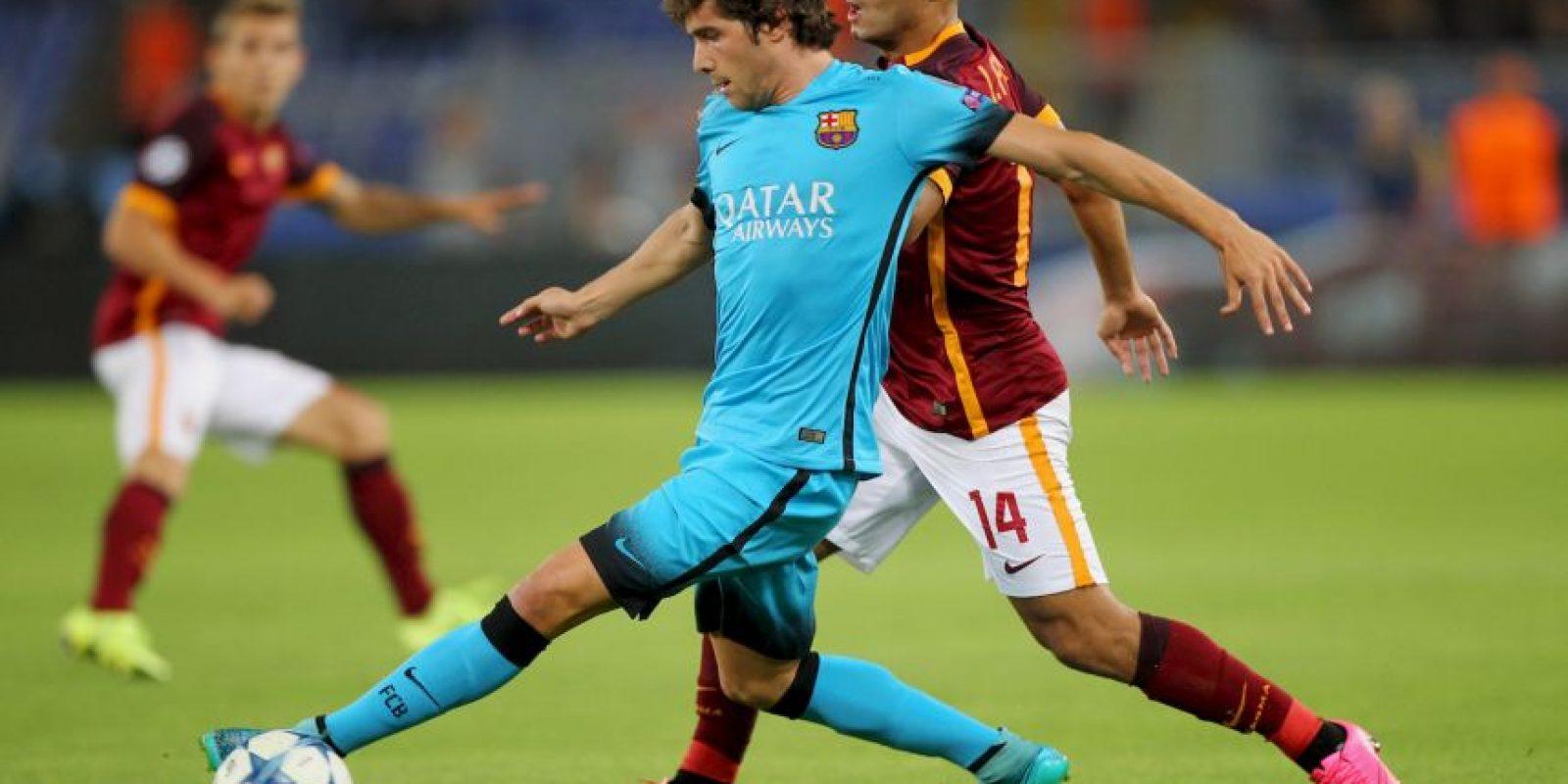 1. Barcelona suma 10 puntos, por cinco de la Roma y cuatro de Bayer Leverkusen; un triunfo de los culés les aseguraría el liderato del sector E Foto:Getty Images