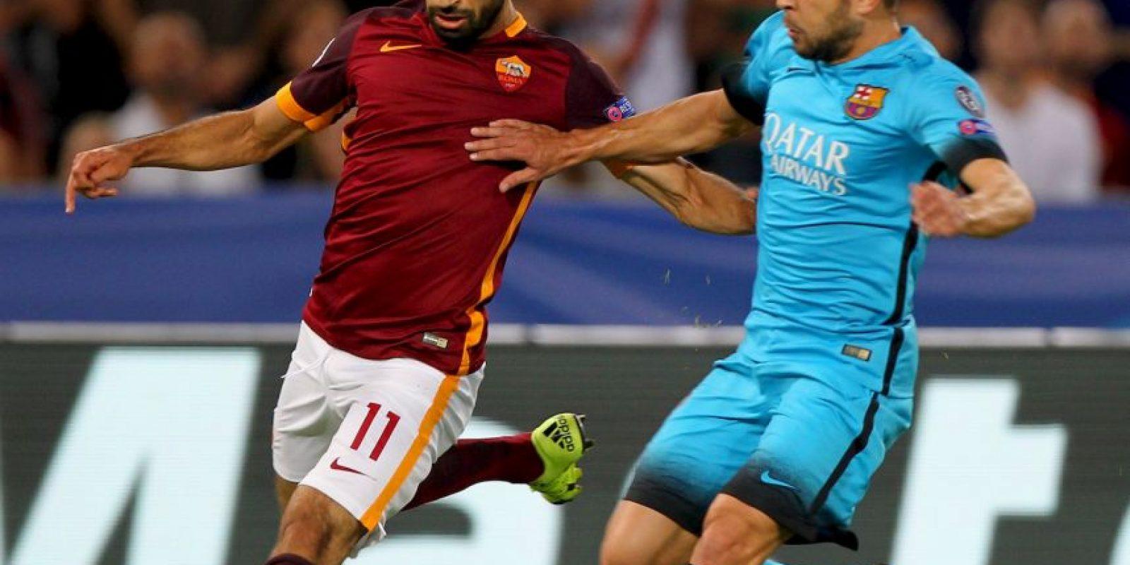 4. Roma deberá sobreponerse a las bajas de Gervinho, Salah y Totti Foto:Getty Images