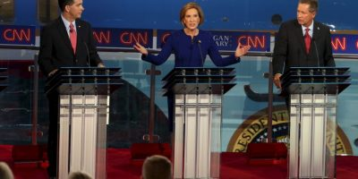 6. Mientras, Carly Fiorina tuvo un 5%. Foto: Getty Images