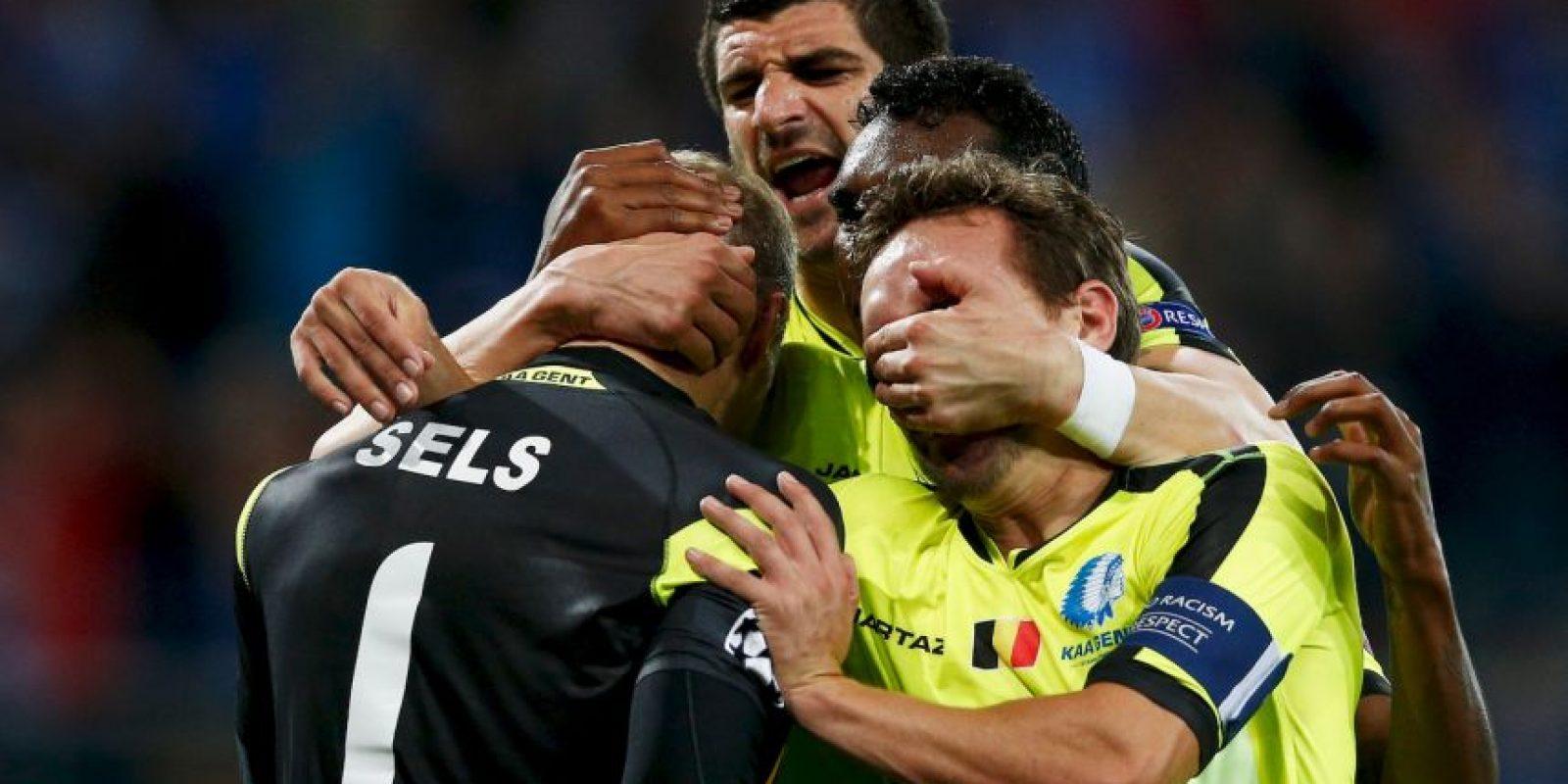 El combinado belga debe vencer al Zenit para asegurar su pase a ocatvos Foto:Getty Images