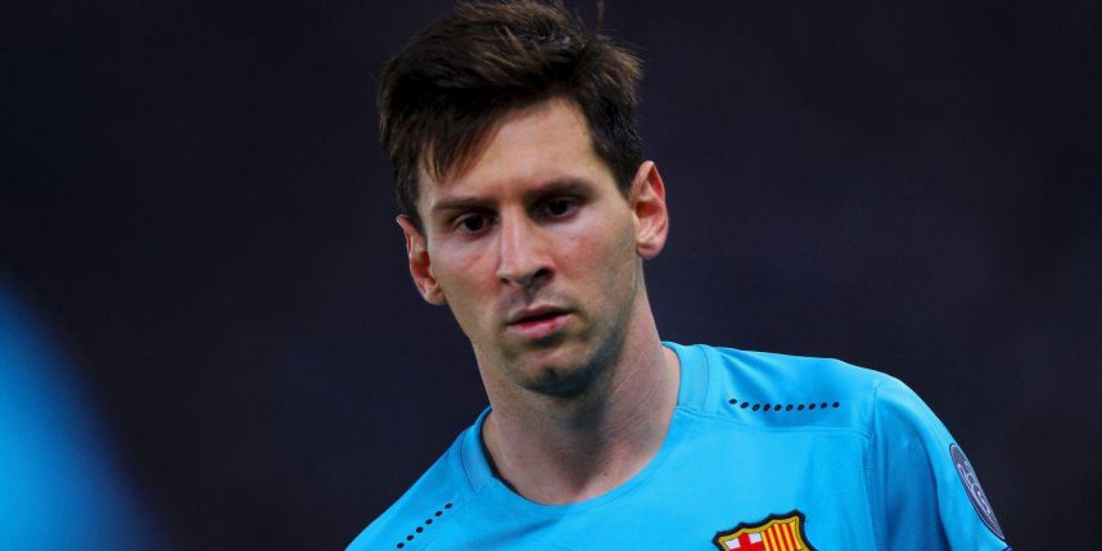 Lionel Messi es pretendido por el Manchester City Foto:Getty Images