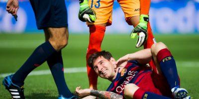 En el partido ante Las Palmas Foto:Getty Images