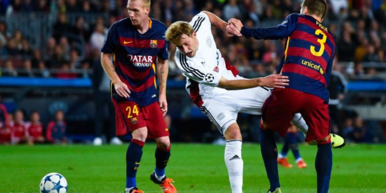 """Pero en los enfrentamientos directos entre Bayer y Roma, las """"Aspirinas"""" sufrieron una derrota y un empate Foto:Getty Images"""