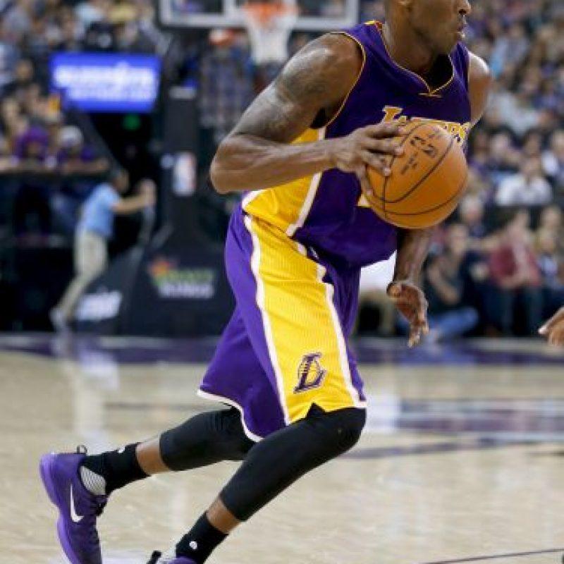 3. Kobe ganó cinco títulos de la NBA (2000, 2001, 2002, 2009 y 2011), uno menos que Jordan Foto:Getty Images
