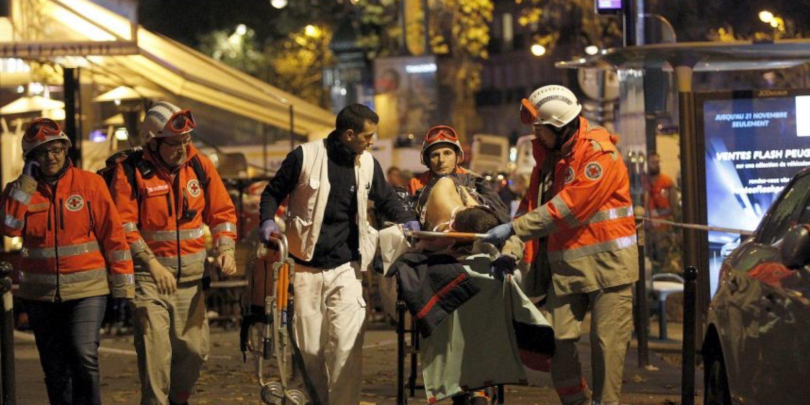 """""""El terrorista me miró a los ojos pero no me mató"""" , dijo Massimiliano Natalucci a la cadena RT. Foto:Getty Images"""